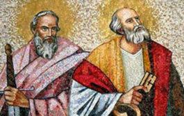 Oggi 29 Giugno Santi Pietro e Paolo apostoli