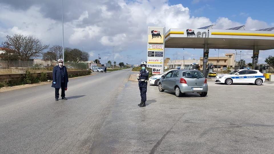 Mazara. Servizi di controllo della Polizia Municipale: 5 verbali elevati per guida senza patente