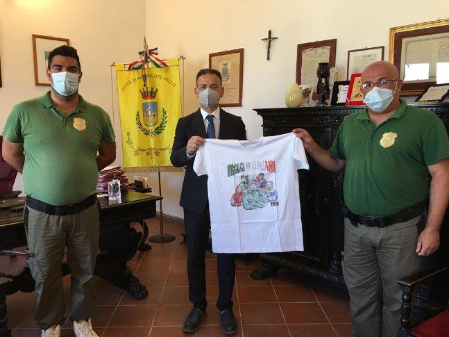 Mazara. Il Presidente e il Vicepresidente dell'Organizzazione di Volontariato Fedelambiente, hanno incontrato il Sindaco Quinci