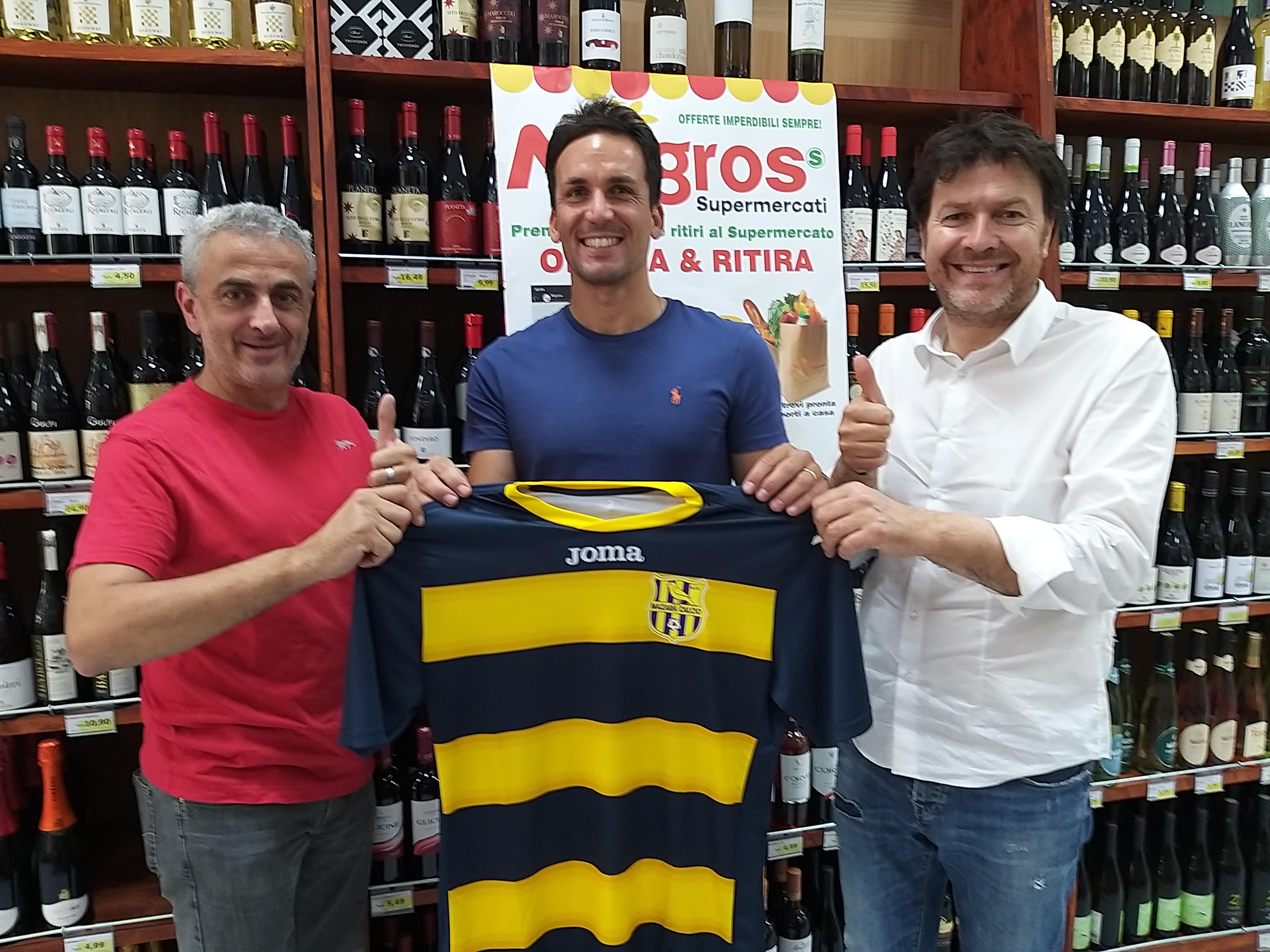 Mazara calcio: Il portiere Pietro Iacono ancora in gialloblu per la stagione 2020/21