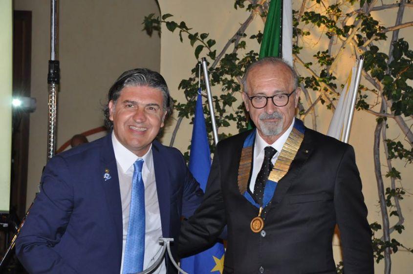 """Rotary Club Mazara, """"passaggio della campana"""", Lillo Giorgi Presidente per l'anno rotariano 2020/2021"""