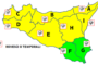 Maltempo, in arrivo temporali al centrosud: allerta gialla in Sicilia