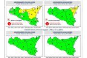 Maltempo in Sicilia, in arrivo piogge e temporali: domani allerta gialla