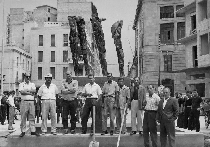 Mazara. La Giunta approva il progetto di restauro della statua fontana del Consagra di piazza Mokarta