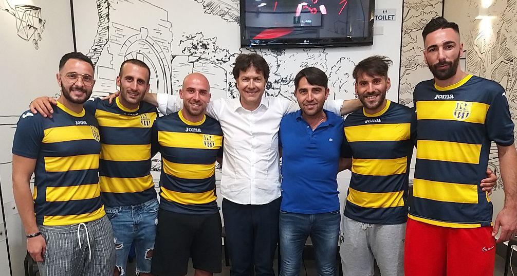 MAZARA Calcio: Grande entusiasmo per la presentazione di Iraci, De Luca, Erbini, Maggio e Calafiore
