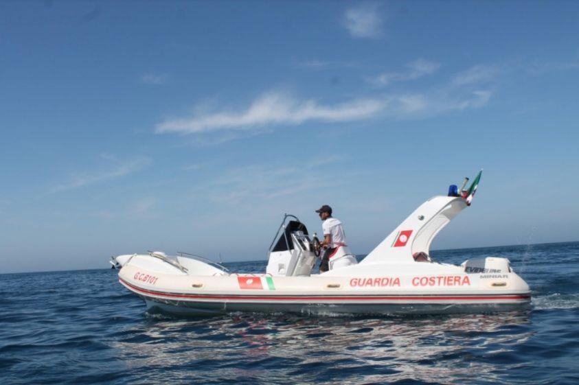 Controlli e soccorsi effettuati dalla guardia costiera di Mazara