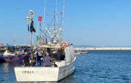 Liberato il motopesca che era stato sequestrato dalle autorità tunisine