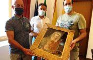 Mazara. Ritrovato e consegnato il quadro raffigurante la Madonna Addolorata che da anni si trova nell'altarino di via Valeria