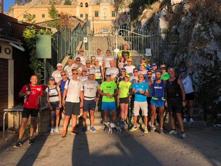 """Mazara. Per il gruppo""""Running Friends"""" oggi l'Acchianata del Monte Erice (800m), 5^ tappa dell'evento """"Acchianate 5.0"""""""