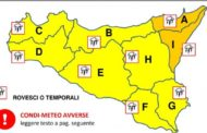 Pioggia e temporali si abbatteranno sulla Sicilia nella giornata di domani, venerdì 7 agosto