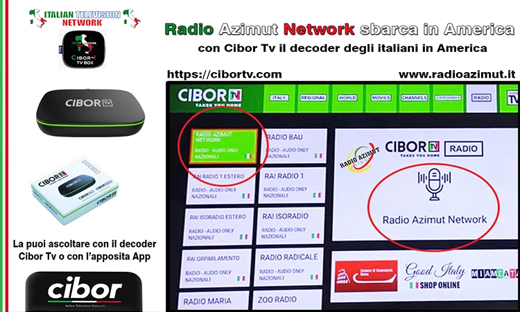 Radio Azimut Network sbarca in America