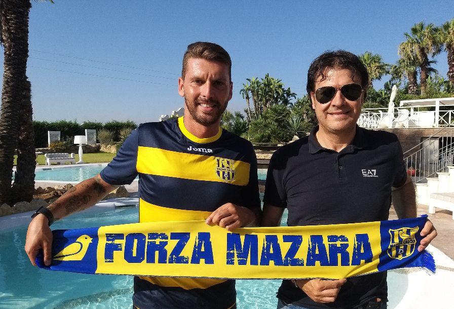 Mazara calcio: Importante riconferma di Gino Giardina in maglia canarina