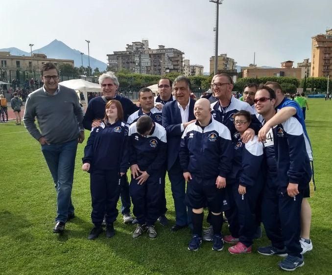 Mazara. L'ASD Paralimpica insignita con la Stella D'Argento al merito sportivo