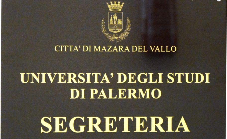 Mazara. Segreteria Remota dell'Università di Palermo presso il Comune aperta il mercoledì ed il venerdì