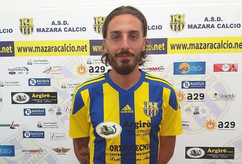 Mazara calcio: Tesserato l'esperto difensore DAVIDE LO CASCIO