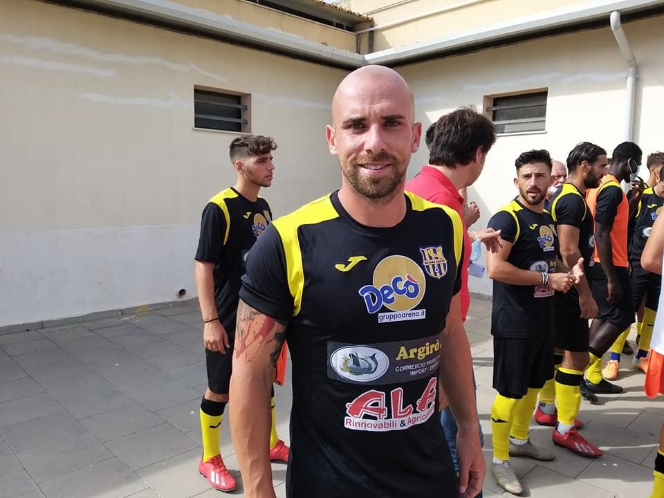 Mazara calcio: Interrotto il rapporto con l'attaccante Benny Iraci
