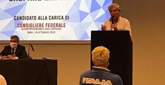 Mazara. Gaspare Majelli rieletto per il quarto mandato Paralimpico Consigliere Federale FISDIR