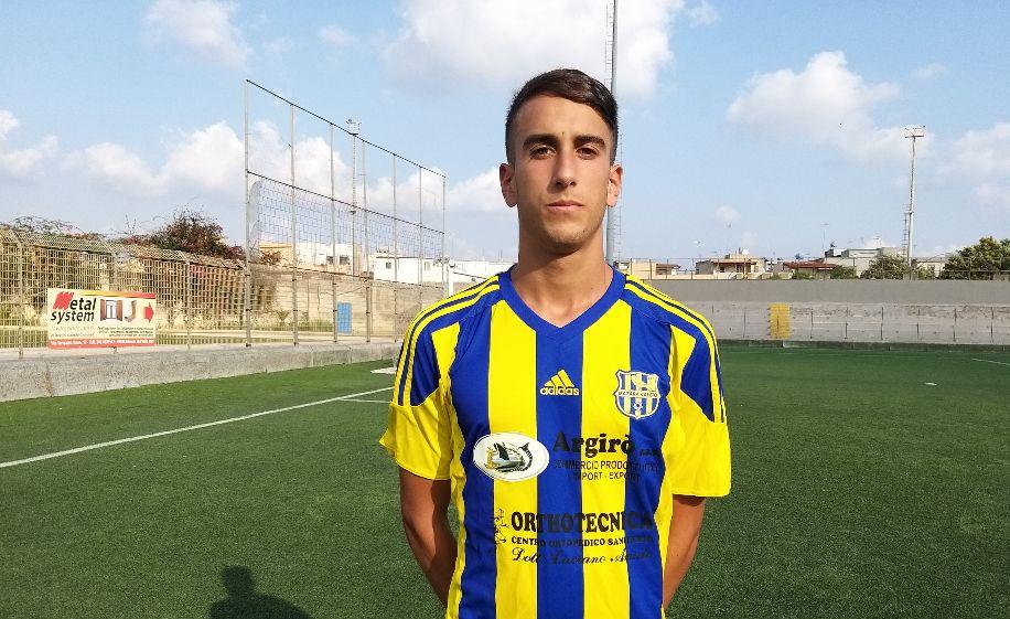 Mazara calcio: Il giovane difensore Manuel Merlino in gialloblù