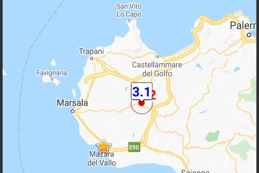 Avvertita scossa di terremoto di magnitudo 3.1