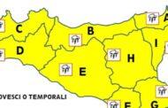 Maltempo, arrivano temporali anche in Sicilia: domani allerta gialla