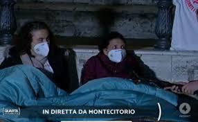 Toni Capuozzo a Quarta repubblica, le mogli dei pescatori ostaggi in Libia passano la notte in piazza: