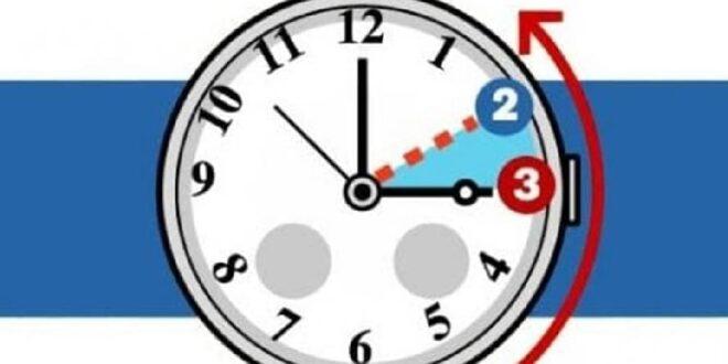 Questa notte torna l'ora solare. Lancette indietro di 60 minuti