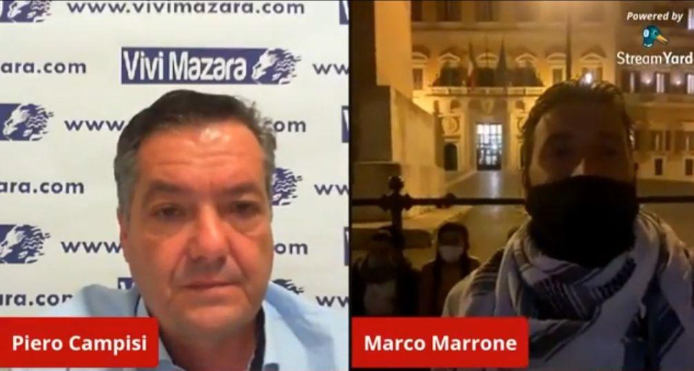 VIDEO COLLEGAMENTO CON PIAZZA MONTECITORIO A ROMA, CONTINUA LA PROTESTA DEI FAMILIARI DEI 18 PESCATORI IN STATO DI FERMO IN LIBIA