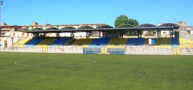 Mazara. Lavori di manutenzione di un tratto della recinzione dello stadio Nino Vaccara