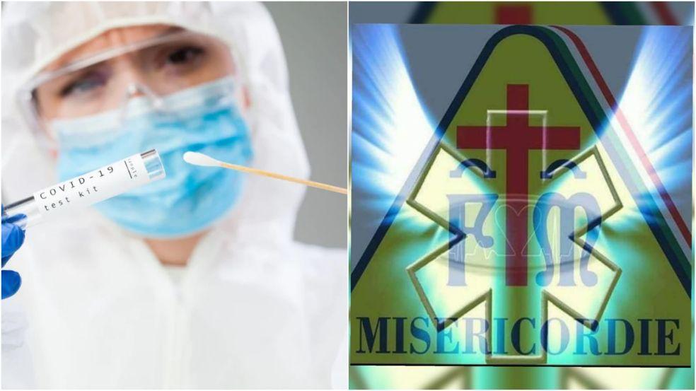 Misericordia di Mazara, domenica 1 novembre giornata di prevenzione Covid-19. Verranno eseguiti 800 tamponi alla cittadinanza
