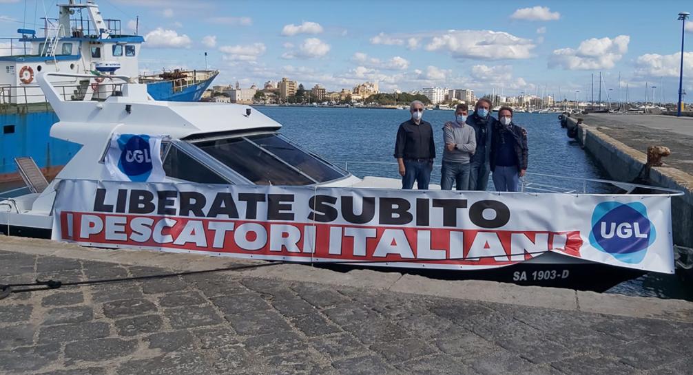 Pesca/Sicilia. Ugl, Musumeci avvi dialogo in Cirenaica e stanziare risorse per pescatori e.armatori Medinea e Antartide