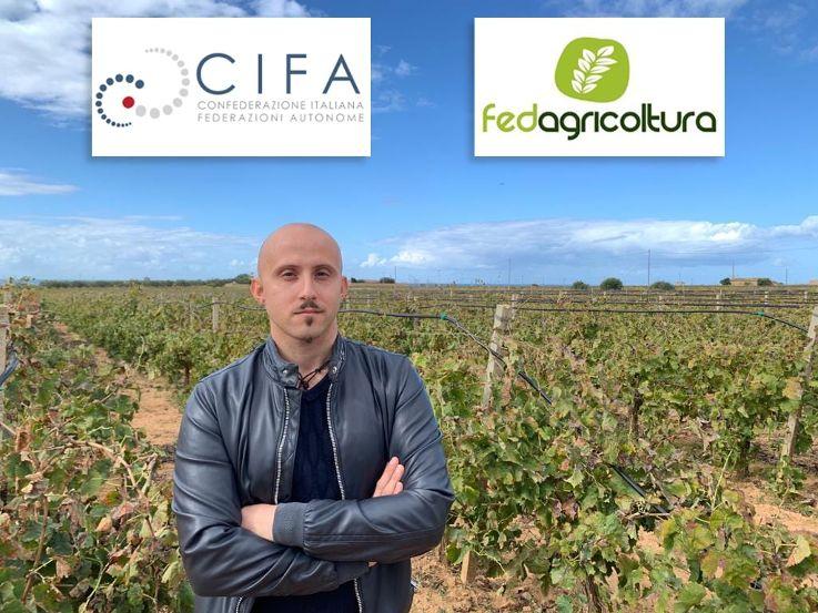 Francesco Adamo Responsabile FedAgricoltura-C.I.F.A. per la Città di Mazara