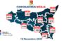Coronavirus, in Italia 37.978 nuovi casi e altri 636 morti
