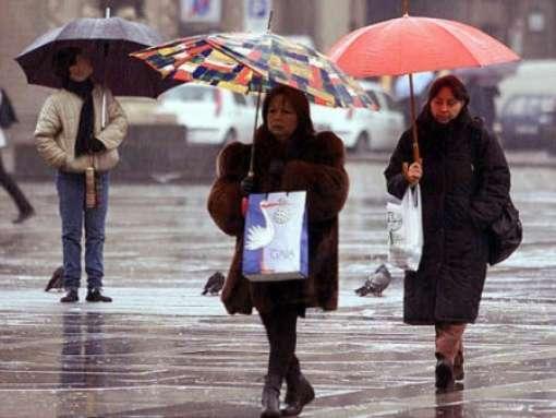 Piogge e temporali oggi in tutta la Sicilia