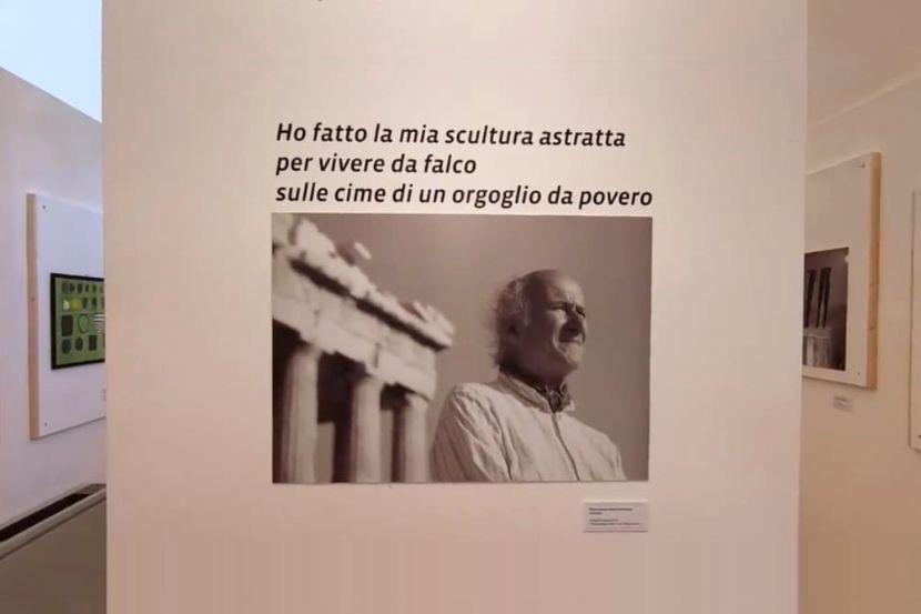 Mazara. Due sale del Collegio dei Gesuiti intitolate e destinate a Mostra permanente dell'artista mazarese Pietro Consagra