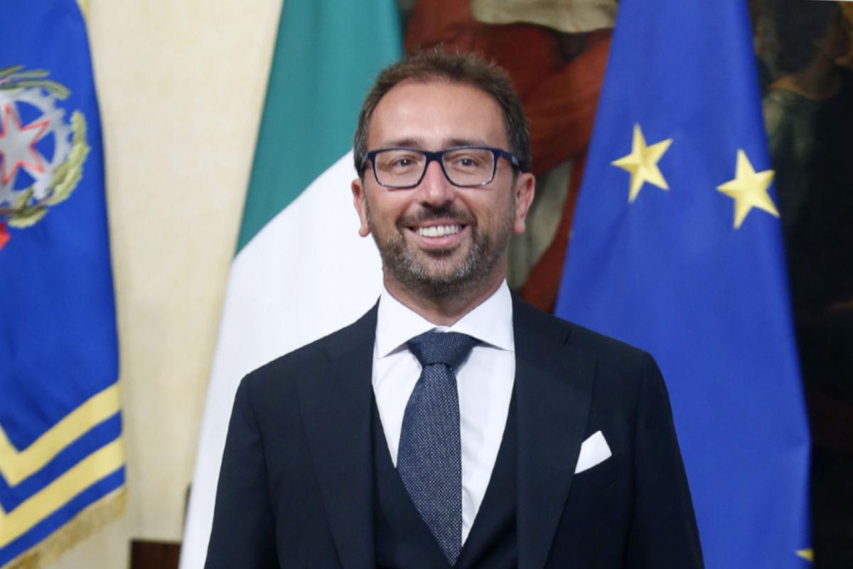 Ministro Alfonso Bonafede: