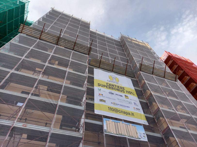 La A29 ha inaugurato il primo cantiere Condominio Superbonus 110% a Palermo