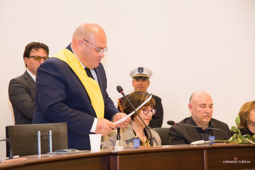 Mazara. Congratulazioni del presidente del consiglio comunale Gancitano al segretario generale Antonella Marascia