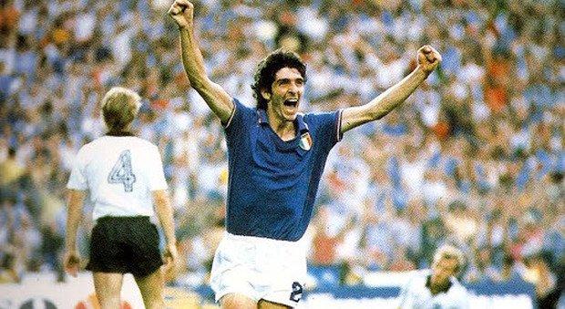 E' MORTO PAOLO ROSSI. Fu il simbolo dell'Italia Mondiale del 1982