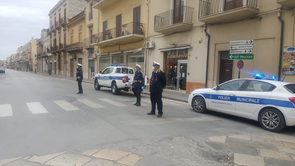 Mazara: Festività natalizie, intensificati controlli della Polizia Municipale