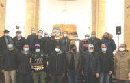 Mazara. IL SINDACO QUINCI INCONTRA I 18 PESCATORI LIBERATI IN LIBIA