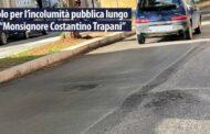 """Diventerà Bellissima Giovani di Mazara chiede all'amministrazione comunale di intervenire per rimuovere le cause di pericolo per l'incolumità pubblica lungo la via """"Monsignore Costantino Trapani"""""""
