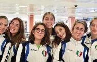 Allenamento Nazionale U20 di Sciabola Femminile. Il Circolo schermistico Mazarese piazza 7 atlete