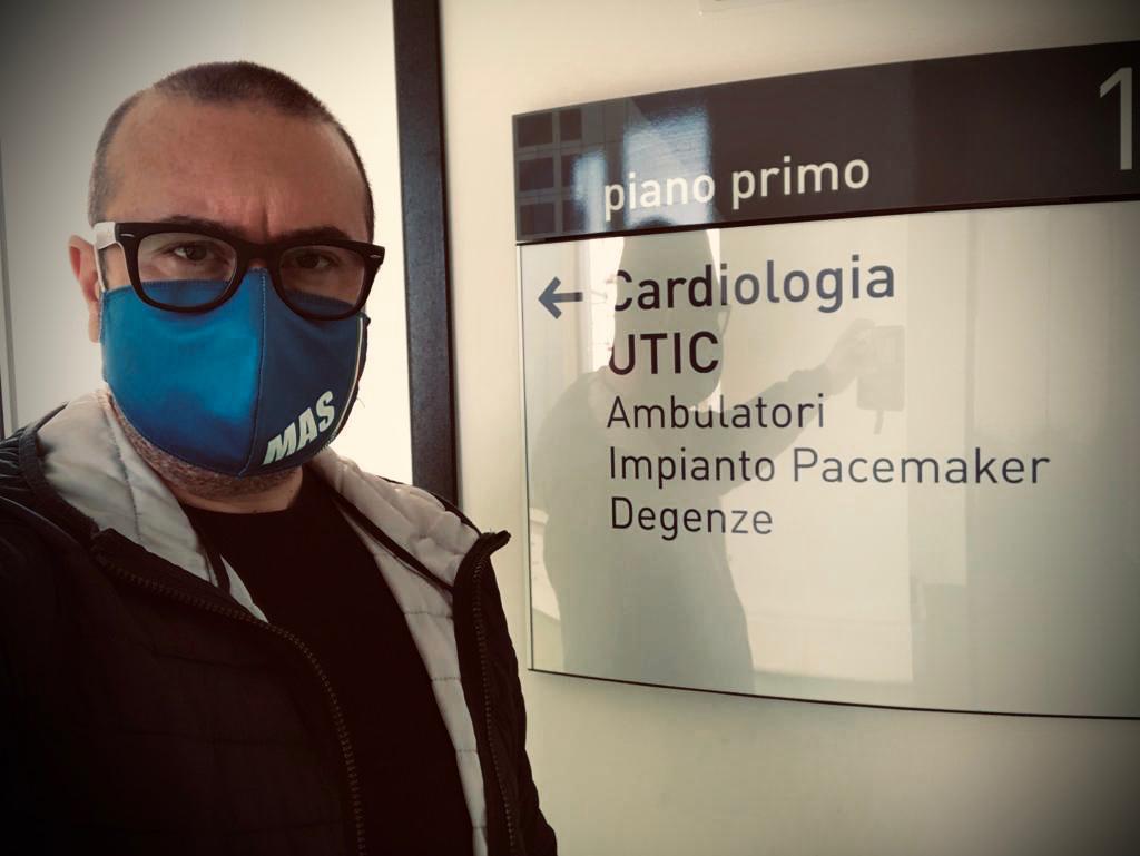 Mazara. Giampaolo Caruso (Fratelli d'Italia) OSPEDALE ABELE AJIELLO-REPARTO CARDIOLOGIA