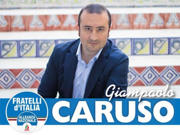 Mazara. Giampaolo Caruso (Fratelli d'Italia)
