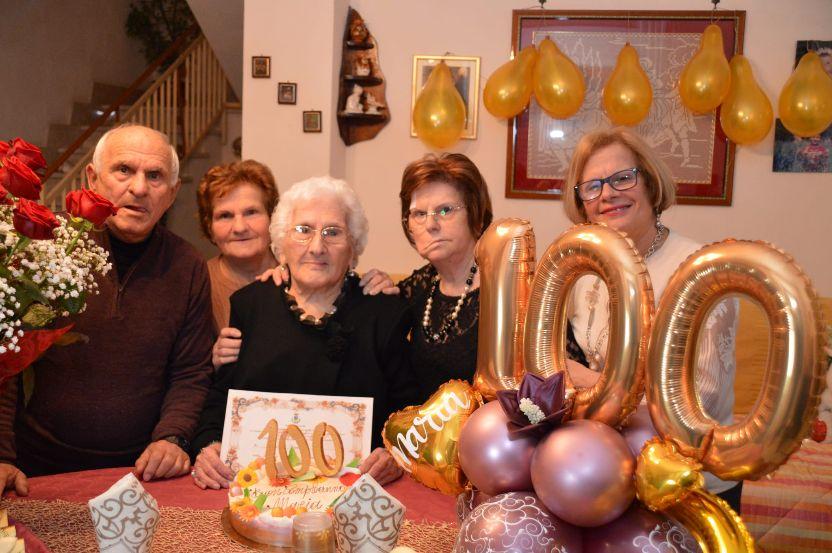 Mazara. La signora Scibilia compie 100 anni