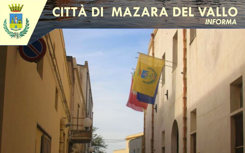 Novità nella programmazione dell'orario di lavoro ordinario dei dipendenti del Comune di Mazara del Vallo