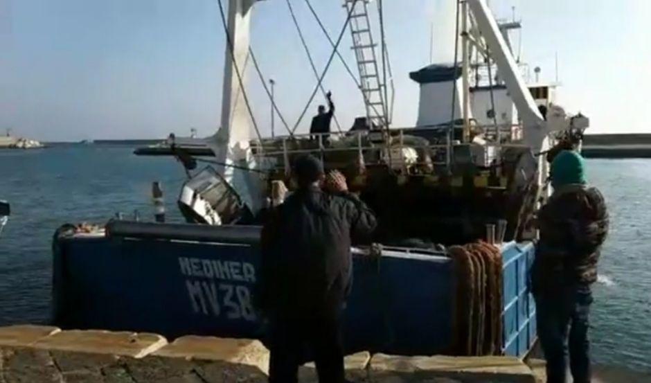 Mazara. (Video) DOPO IL SEQUESTRO IN LIBIA IL MOTOPESCA