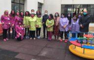 Inaugurato il primo giardino sensoriale scolastico della città di Mazara