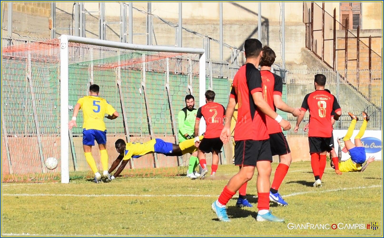Il Mazara dilaga a Castelvetrano 4-1 e conquista la vetta della classifica. Il Tabellino della gara e le interviste del dopo partita
