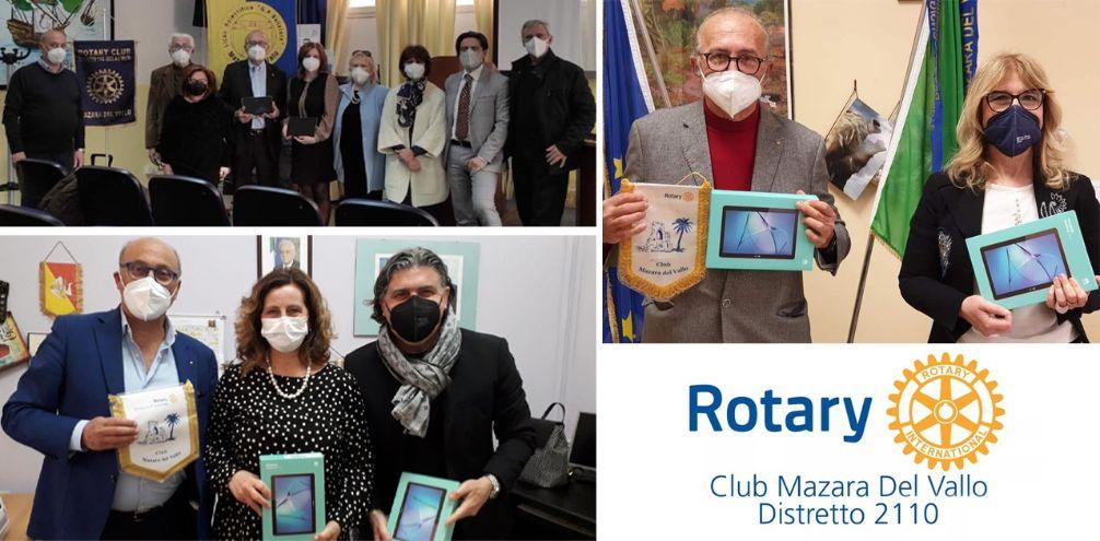 Rotary Mazara, tablet a 3 Istituti scolastici per aiutare studenti bisognosi
